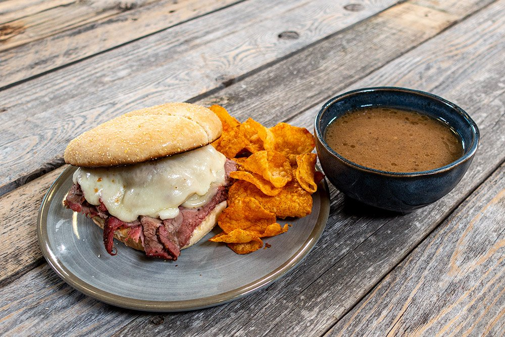 Roast Beef Sandwiches with Jus