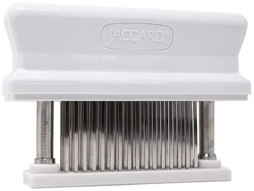 Jaccard for tenderizing arrachera.