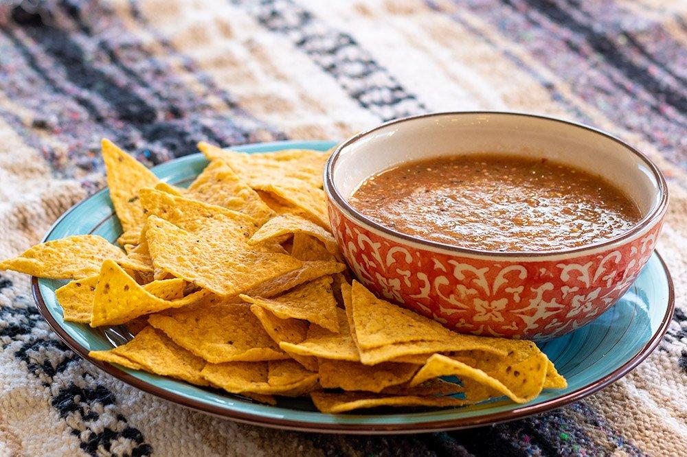 Salsa de Chile de Arbol