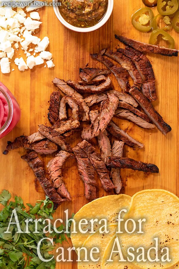 Arrachera for Carne Asada Tacos