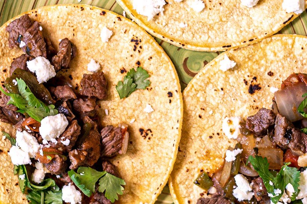 Carne Picada Tacos