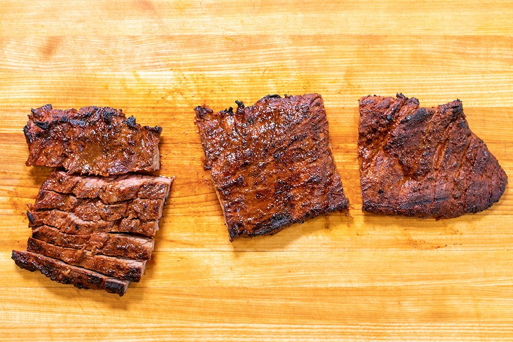 Arrachera cut for carne asada tacos