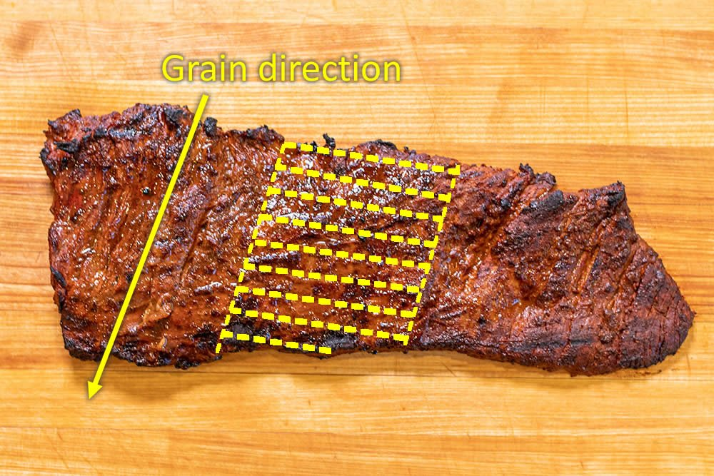 How to cut arrachera for carne asada tacos