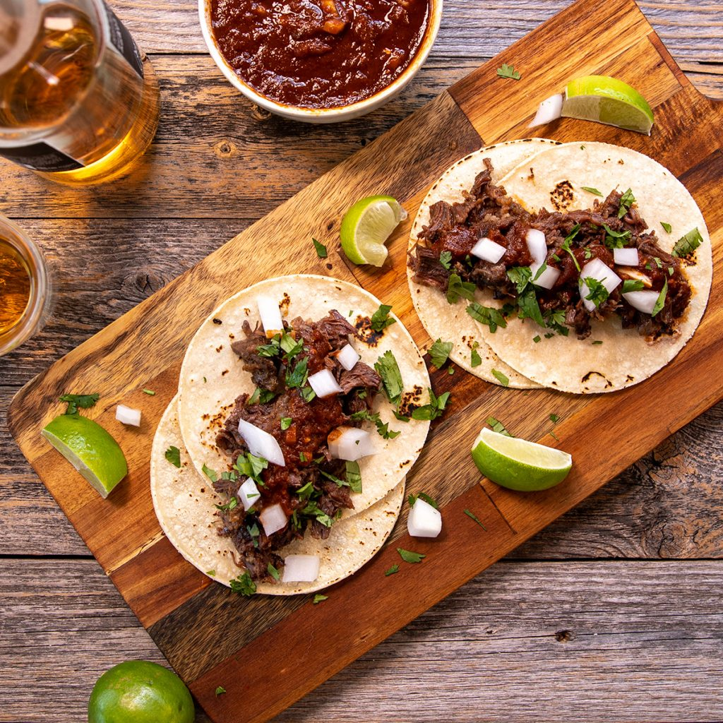 Beef cheek Barbacoa Norteña - Barbacoa from Northern Mexico and South and West Texas