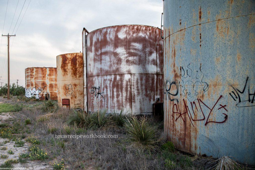 Oil Tank Graveyard