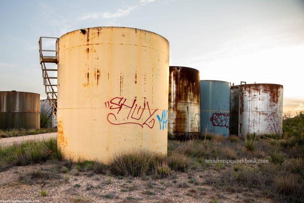 Oil Tank Graveyard #2