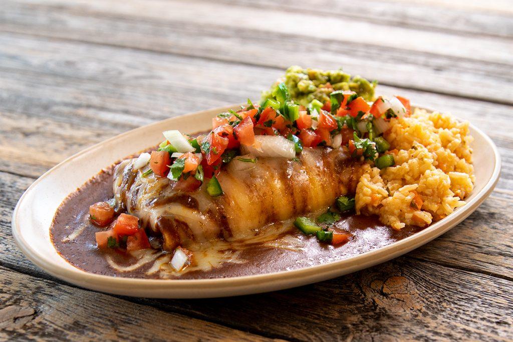 Tex-Mex Wet Burrito (Burrito Mojado)
